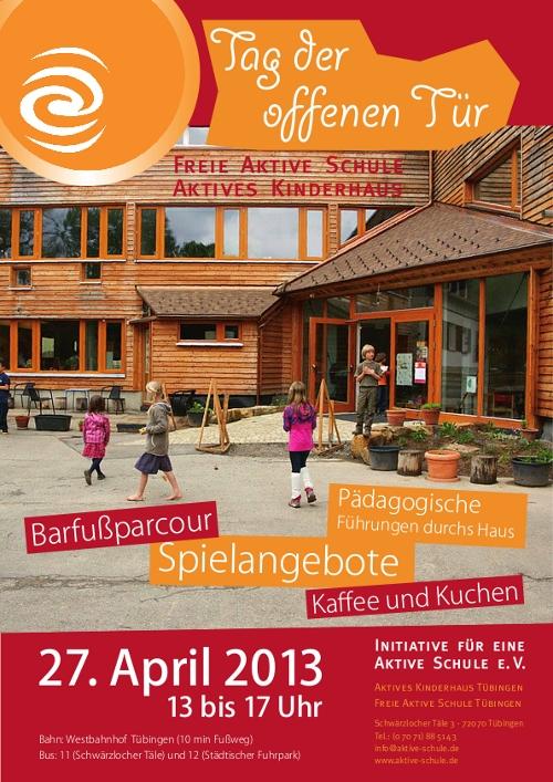 Tag der offenen tür schule  Tag der offenen Tür | Freie Aktive Schule Tübingen